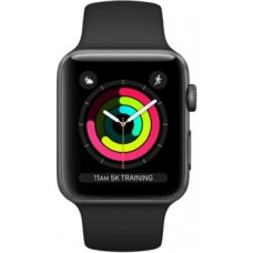 Apple Watch S3 sport 38mm black